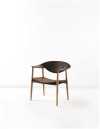 metropolitan armchair, model no. 2842/l by ejnar larsen and aksel bender madsen