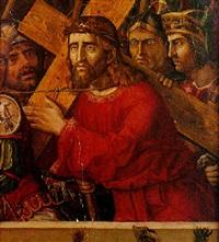 le portement de croix by italian school-veronese (15)