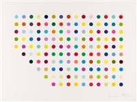 meprobamate by damien hirst