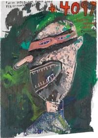 poker face (4, 097) by mark grotjahn