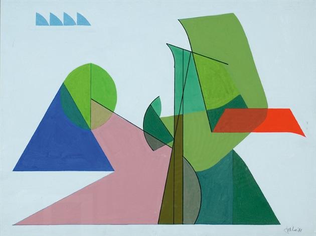 polychrome composition by jan van der zee