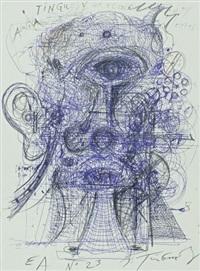 le cyklope (le monstre dans la forêt) by jean tinguely