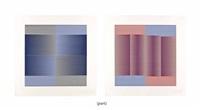 induction chromatique (set of 6) by carlos cruz-diez