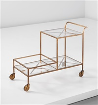 serving trolley by jean royère