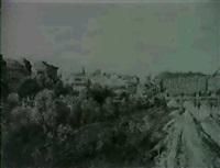 das wiental mit der elisabethbrücke by maria bauer
