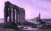 aquaducts in the roman campagna by jodocus sebastiaen van den abeele