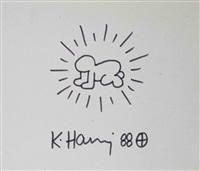 radiant baby by keith haring