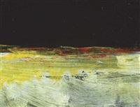 night on the burren (diptych) by gerald davis