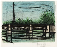 le pont de grenelle by bernard buffet