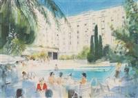 la piscine du majestic à cannes by jean-baptiste valadie