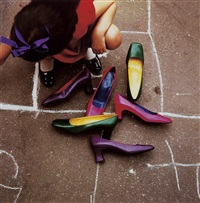 campaign for charles jourdan by guy bourdin