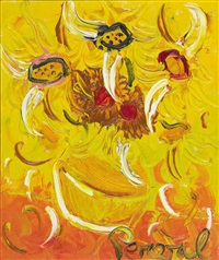 sunflowers by john de burgh perceval