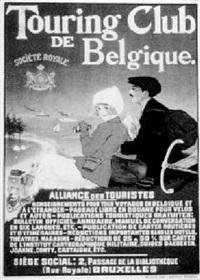 touring club de belgique: société royale, alliance des touristes by jean droit