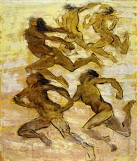 running for target by putu sutawijaya