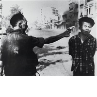 execution of viet cong officer, saigon, february by eddie adams