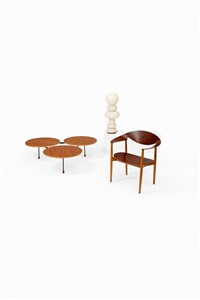fauteuil modèle metropolitan by ejnar larsen and aksel bender madsen