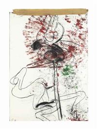 bone drawing i by paul mccarthy