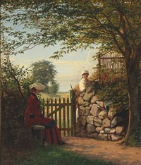 a chat in the danish country by christian (jens c.) thorrestrup