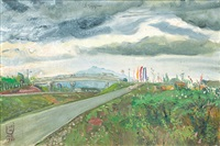 jalan tol jagorawi (jagorawi toll road) by s. sudjojono