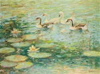 the duck pond by c. james frazier