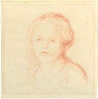 portrait de madame renoir by pierre-auguste renoir