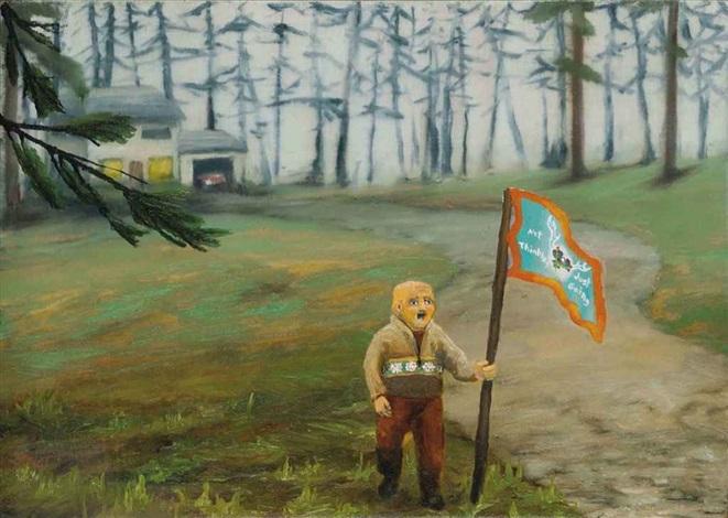 staking a claim (little scandinavian fella kinda like me - outside schofield, wi) by dan attoe