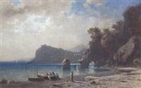 südliche meeresküste by friedrich wilhelm albert dressler