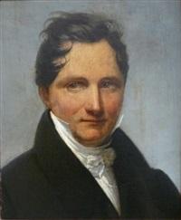 portrait d'homme by henri françois riesener