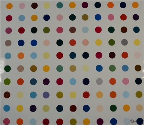 lycergic acid diethylamide by damien hirst