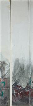 untitled (diptych) by joshua neustein