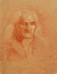 portrait of an old man by benjamin robert haydon