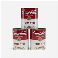 wastepaper baskets (set of 3) by andy warhol