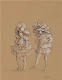 petites filles by leonor fini