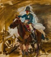 soldado a caballo by roberto domingo fallola