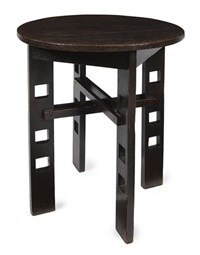 smoking room table by charles rennie mackintosh