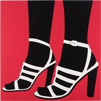 high heels (pink) by sarah morris