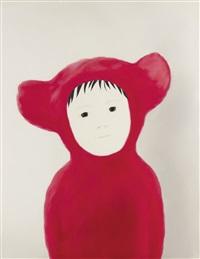pink bear by mayuka yamamoto