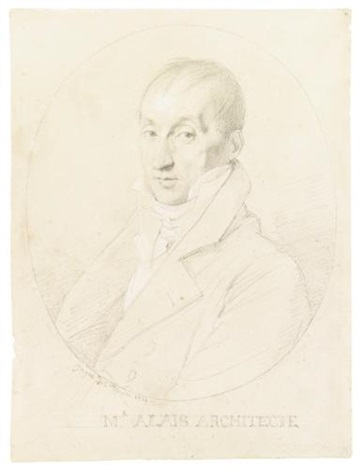 the architect guillaume edouard allais by jean-auguste-dominique ingres