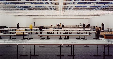 centre georges pompidou by andreas gursky