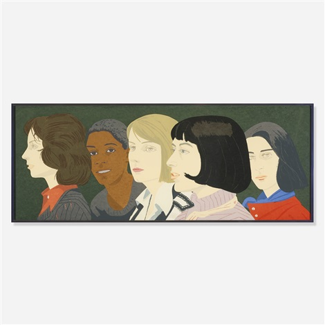 five women by alex katz