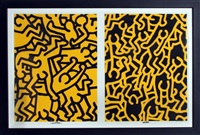 for playboy by keith haring
