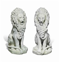 lions (2 works) by anonymous (19)