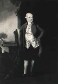 portrait of a gentleman, said to be constantine john phipps, 2nd baron mulgrave by edward alcock