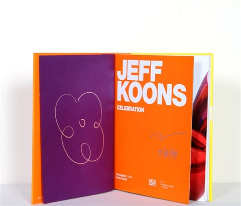 jeff koons: celebration, small flower by jeff koons