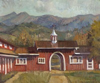 cate school barn long view by meredith brooks abbott