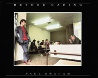 beyond caring (book w/32 works, oblong quarto, 1st edition) by paul graham