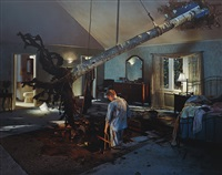 untitled (bedroom tree) from twilight by gregory crewdson