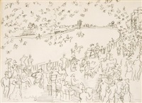 untitled by raoul dufy