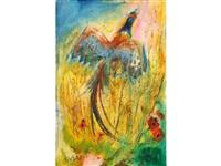pheasant ascending by sven berlin