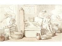 the turkish bath by thomas rowlandson